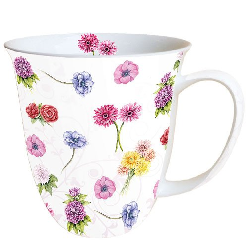 Ambiente Mug Tea/Coffee Flower Festival - Blumenfest ca. 400ml