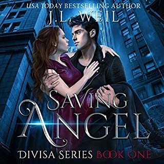 Saving Angel audiobook cover art