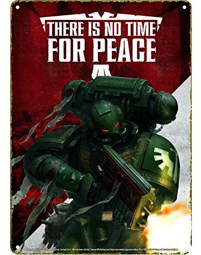 Warhammer 40000 Kleines Blechschild - Propaganda