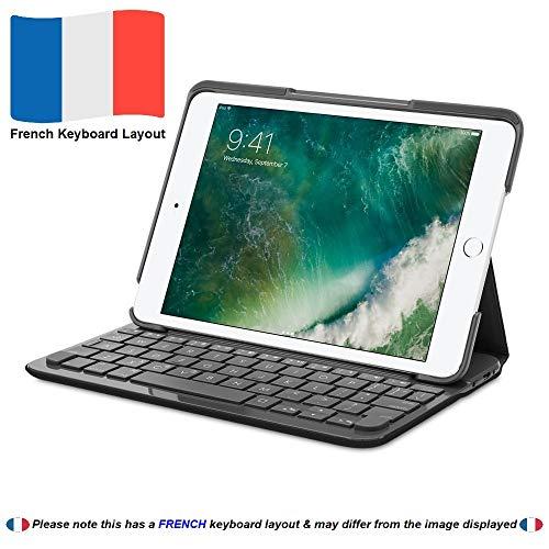 Logitech Canvas Keyboard Case for iPad mini 1, 2 & 3 - Carbon Black (French Keyboard Layout)