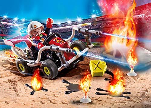 Quad bomberos Playmobil StuntShow (70554)