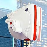 Escobilla de goma para ventana de ducha, Limpiacristales de ventana, Herramientas de limpieza magnéticas, Cepillo de limpieza de vidrio para lavar, Uso para 5-30 mm (0.2 '-1.2')
