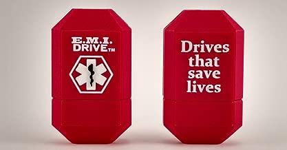 EMI Drive Emergency Medical Alert USB Flash Drive