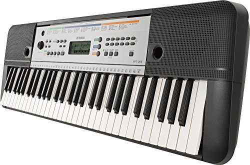 Yamaha YPT- 255 Tastiera, Nero
