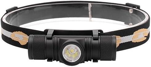 QSCTYG Hoofd Torch LED Mini Koplamp Hoge Power 1000lm Oplaadbare Hoofd Torch Camping Waterdichte Zaklamp 348