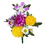 漆ぷろだくと 定番の仏花 22cm 造花 仏壇 法要