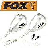 Fox Bolt Bubble Wasserkugel - 2 Karpfenposen zum Angeln auf Karpfen, Angelpose zum Karpfenangeln,...