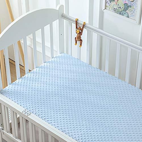 Xiaomizi Sábana bajera ajustable para bebé de otoño e invierno para cama de bebé