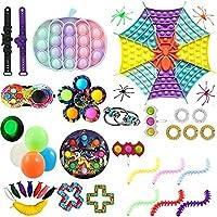スクイーズ玩具 プッシュポップバブ 減圧おもちゃ ハロウィンセット 指おもちゃ 押し出し ストレス解消グッズ インテリジェンス発展 感覚おもちゃ ボードゲーム 誕生日祝い プレゼント 子供大人兼用 (color-7)