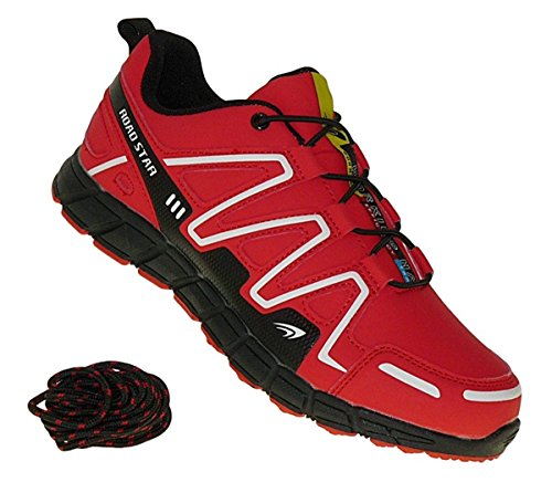 Bootsland 704 Neon Turnschuhe Sneaker Sportschuhe Herren, Schuhgröße:44