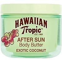 Hawaiian Tropic AfterSun Body Butter Exotic Coconut - Crema Corporal After Sun con aroma fresco de Coco, fórmula hipoalergénica de hidratación intensa, formato 200 ml