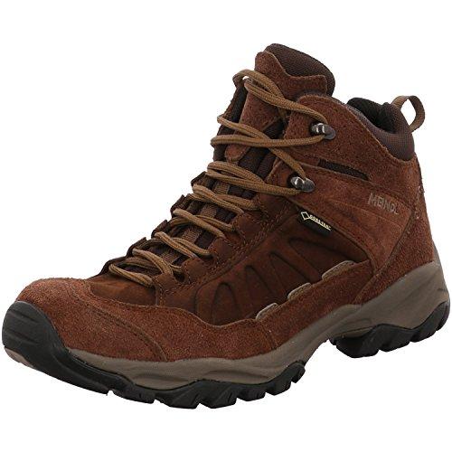 Meindl Outdoorschuhe Wanderschuhe Trekkingschuhe Nebraska Lady MID GTX Dunkelbraun, Schuhe:UK 4.5