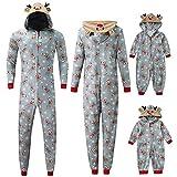 JSPOYOU Matching Family Christmas Pajamas...