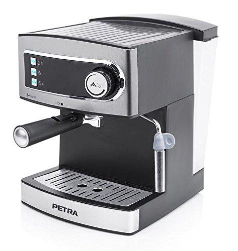 Petra Electric 58.249407.01.001 Espressomaschine, 850 W, silber