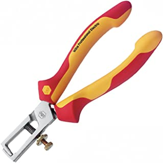 Wiha 32860 Stripping Pliers, Insulated, 6.3-Inch
