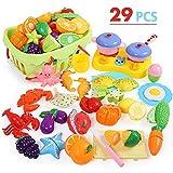 NextX Küchenspielzeug mit Lebensmittel GeschirrKüche Rollenspiele Spielzeug für Jungen und...