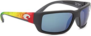 MightySkins Skin Compatible with Costa Del Mar Fantail Sunglasses - Rasta Rainbow | Protective, Durable, and Unique Vinyl Decal wrap Cover | Easy to Apply, Remove, and Change Styles | Made in The USA