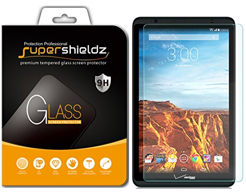 Supershieldz for Verizon Ellipsis 8 Tempered Glass Screen Protector, Anti Scratch, Bubble Free