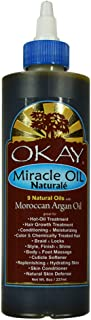Miracle Oil All Natural for Hair & Skin|Unique Blend Of 9 Natural Oils | For Optimal Hair Growth|For Hair & Skin Condition...