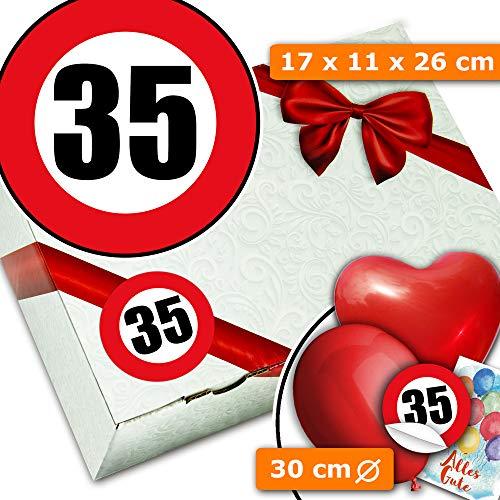 Geschenk Set 35 - Geschenk Boxen - Geschenke 35. Geburtstag Frau