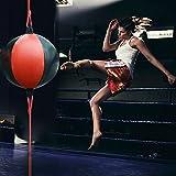 Palla tesa con tiranti per pugilato, portatile, gonfiabile, da appendere, per allenamento di...