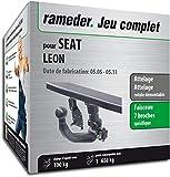 Rameder Attelage rotule démontable pour Seat Leon + Faisceau 7 Broches (134634-05431-3-FR)
