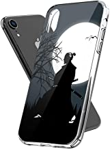 Case Phone Anti-Scratch Motion Picture Cases Cover Samurai Design in The Middle of The Night with A Very B Action Movies (6.1-inch Diagonal Compatible with iPhone XR)