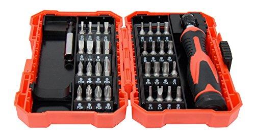21pcs Precision Tool Set Screw /& Nut Drivers Wrenches Hex Key Slot Screwdriver