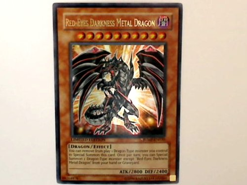 YU-GI-OH! - Red-Eyes Darkness Metal Dragon (JUMP-EN030) - Shonen Jump Magazine Promos - Promo Edition - Ultra Rare