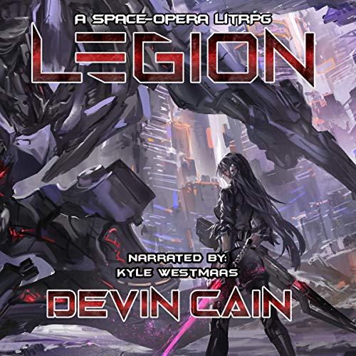 Legion audiobook cover art