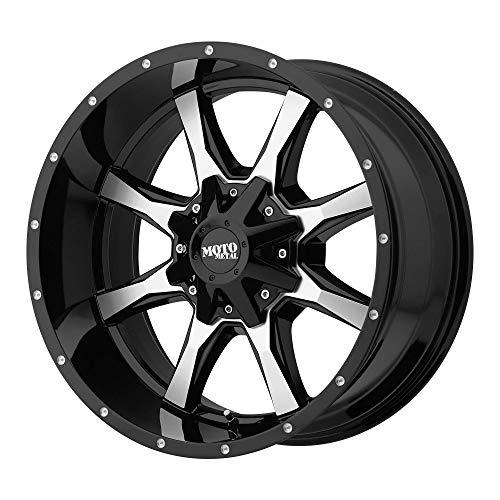 Moto Metal MO970 20x9 6x135/6x5.5' 18mm Black/Machined Wheel Rim 20' Inch