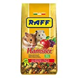 Raff Hamster alimento Completo con l'aggiunta di Frutta per criceti 800g