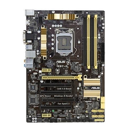 Asus Z87-C moederbord socket 1150 (ATX, Intel Z87, 4x DDR3 geheugen, PCIe, D-Sub, DVI, HDMI)