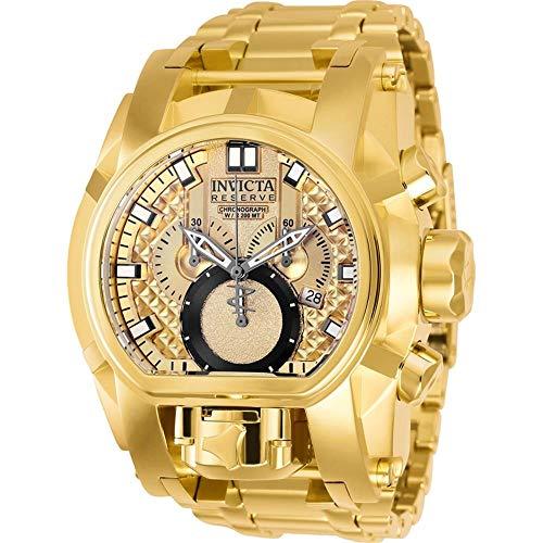 Relógio Invicta Reserve Bolt Zeus Magnum 25210 Dourado/Preto