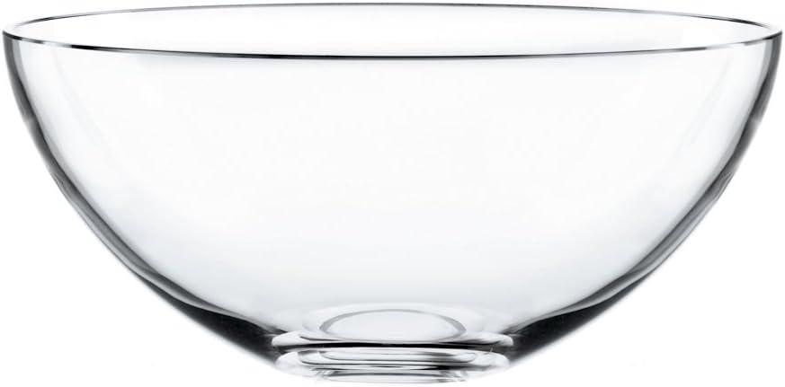 Nachtmann Bowl Vivendi a la Carte Glass cm 25 Crystal Made in 4 years warranty depot
