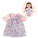 Corolle- Robe Fleurie pour poupée Vêtement, 211290, Rose