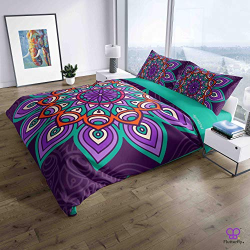 Flutterfly duvet cover king size superk duvet cover queen superk bedding set bed set queen housse de couette superking Boho Bohemian (1021-1200) design