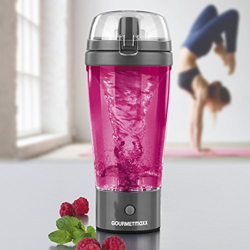 GOURMETmaxx Shaker 450ml 3V in Grau