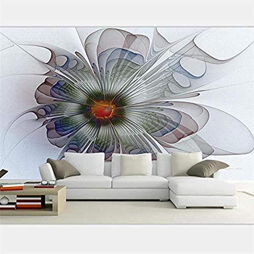 Abstrakte weiße Blumen-Pflanzen-Reihe HD-Druck-Kunst-Wandmalerei-Plakat-Bild großes Seidenwandbild für Wohnzimmer-S wandpapier fototapete 3d effekt tapete tapeten Wohnzimmer Schlafzimmer-200cm×140cm