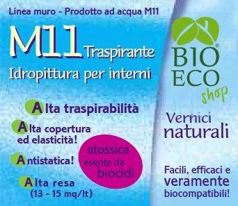 Bioecoshop Traspirante Idropittura M11 Bioeco SOL 3,5 Litri
