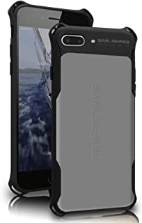 WK DESIGN iPhone 7 Plus case Heavy Duty Protection Shock Reduction Bumper Case for iPhone 7 Plus Cover(Grey)