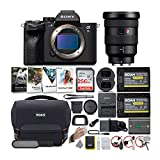 Sony Alpha a7S III Mirrorless Digital Camera with 16-35mm G-Master Lens Bundle (6 Items)
