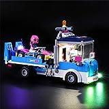 iCUANUTY Kit de Iluminación LED para Lego 41348, Kit de Luces Compatible con Lego Friends - Camión de Asistencia y Mantenimiento (No Incluye Modelo Lego)