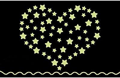 Jaamso Royals Y0033 38 Star Glow in The Dark Wall Sticker JAAMSO ROYALS