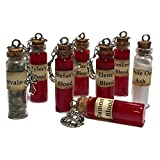 Vampire Diaries Blood Vervain White Oak Ash Bottle Necklace Choose One