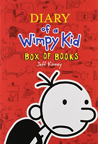 Diary of a Wimpy Kid Box of Books EXPORT (Books 1-10)