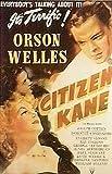 Citizen Kane - Orson Welles - Filmposter Kino Movie