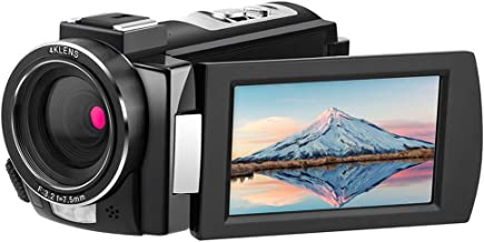 4K Video Camera Camcorder ORDRO HDR-AE8 Full HD 1080P 60FPS Digital WiFi Camera Camcorders with IR Night Vision 3.0'' IPS Touchscreen and Remote Control DV Camera Recorder