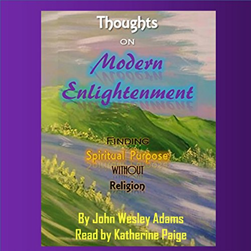 Thoughts on Modern Enlightenment audiobook cover art