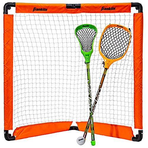 Franklin Sports Youth Lacrosse - Set Porta e Bastoncino